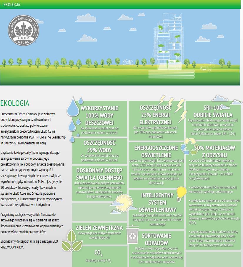 Ekologia Eurocentrum